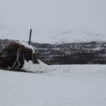 Kungsleden: Hutte pour local