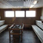 Kebnekaise: Le sauna