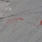 Alta cave painting. first skier ?