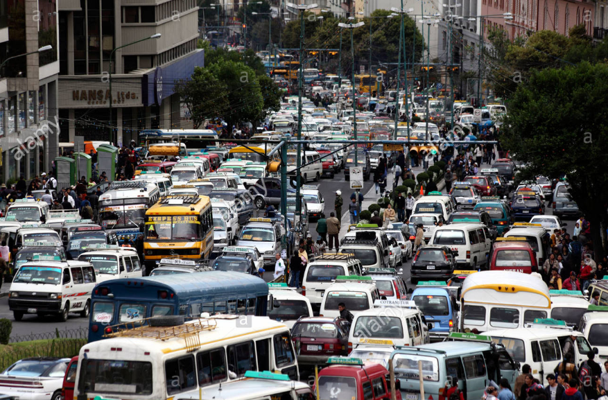 El Prado, casual 5pm traffic (©Alamy Stock Photo)