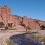 Vallée 1 avec son rio, véritable oasis