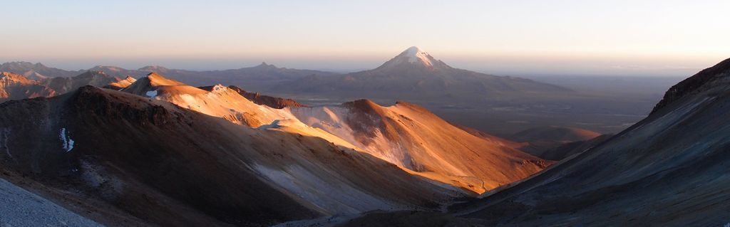 Sunrise on Sajama
