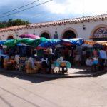 Marché de San Lorenzo, petite bourgade paisible.