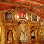 Une des pièces du couvent, salle de prière