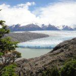 Glacier et lago Grey