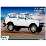 Ca, c'est une Lada Niva 4x4
